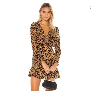 ASTR Leopard Mini Dress